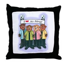 Women's Barbershop Throw Pillow