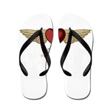 Kristen the Angel Flip Flops