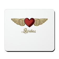 Kristina the Angel Mousepad