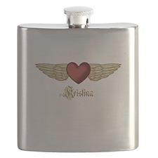 Kristina the Angel Flask