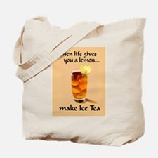 ice tea lemon Tote Bag