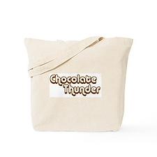 Chocolate Thunder Tote Bag