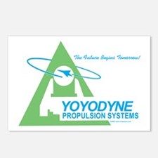 Yoyodyne Propulsion Systems Postcards (Package of