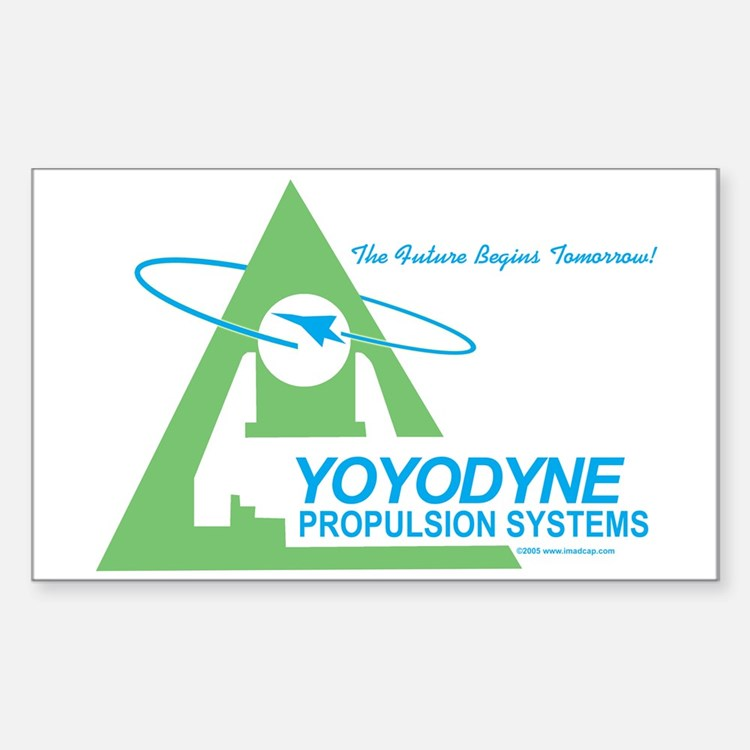 Yoyodyne Propulsion Systems Rectangle Decal
