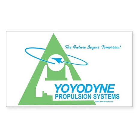 Yoyodyne Propulsion Systems Rectangle Sticker