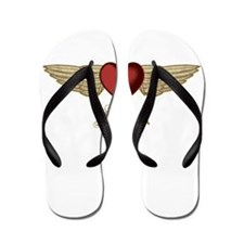 Lauren the Angel Flip Flops