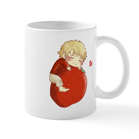 Love for strawberries Mug