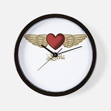 Leila the Angel Wall Clock
