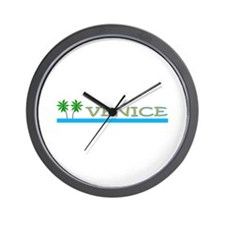 Unique Surfing florida Wall Clock