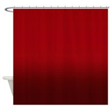 Shades of Red Shower Curtain