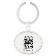 Younge Oval Keychain