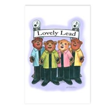Lovely Lead Postcards (Package of 8)