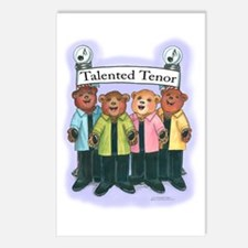 Talented Tenor Postcards (Package of 8)