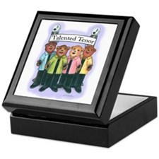 Talented Tenor Keepsake Box