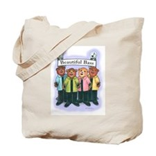 Beautiful Bass Tote Bag