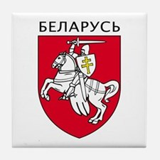 Belarus Tile Coaster