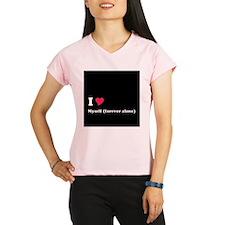 I <3 Myself (forever alone) Peformance Dry T-Shirt