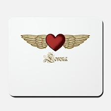 Lorena the Angel Mousepad