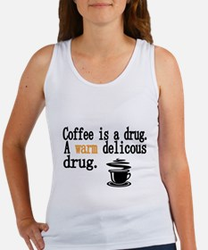 Coffee is a drug Tank Top