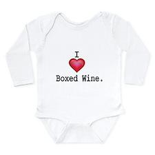 I love Boxed Wine Body Suit