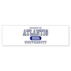 Atlantis University Bumper Sticker
