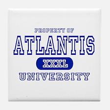 Atlantis University Tile Coaster