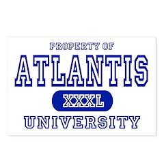 Atlantis University Postcards (Package of 8)