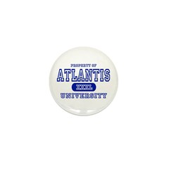 Atlantis University Mini Button