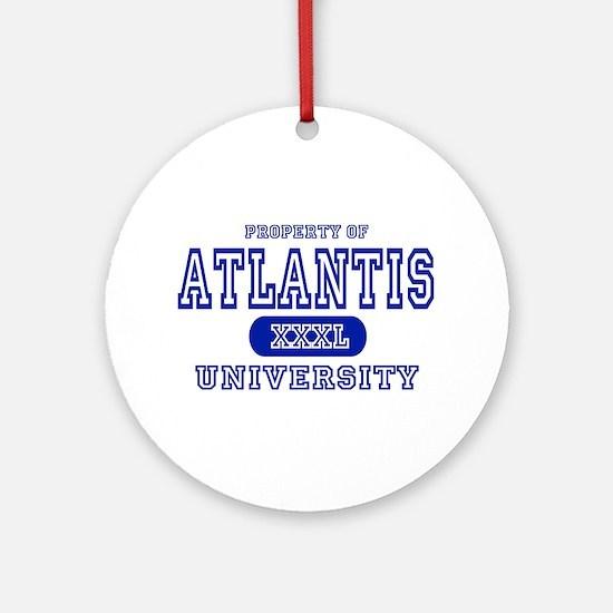 Atlantis University Ornament (Round)