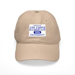 Atlantis University Baseball Cap