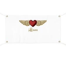 Luann the Angel Banner