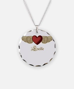 Lucille the Angel Necklace