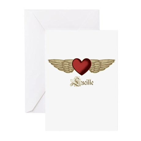 Lucille the Angel Greeting Cards (Pk of 20)