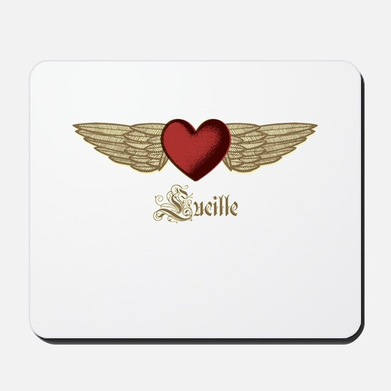 Lucille the Angel Mousepad