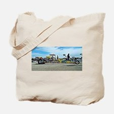 Team Crank Racing dragster Tote Bag