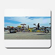 Team Crank Racing dragster Mousepad