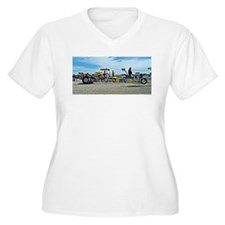 Team Crank Racing dragster Plus Size T-Shirt