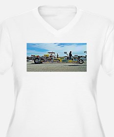 Team Crank Racing dragster Plus Size T-Shirt