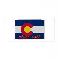 Colorado Molon Labe Aluminum License Plate