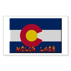 Colorado Molon Labe Sticker