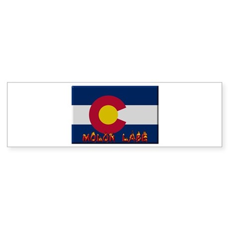 Colorado Molon Labe Bumper Sticker