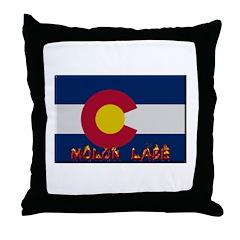 Colorado Molon Labe Throw Pillow