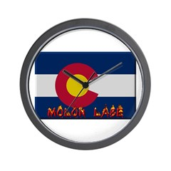 Colorado Molon Labe Wall Clock