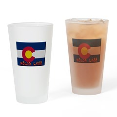 Colorado Molon Labe Drinking Glass