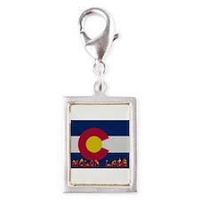 Colorado Molon Labe Silver Portrait Charm
