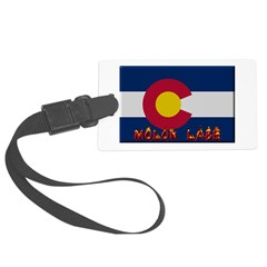 Colorado Molon Labe Luggage Tag