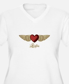 Lydia the Angel Plus Size T-Shirt