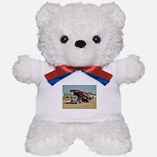 Funny Car Teddy Bear
