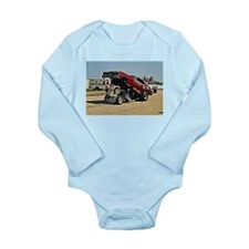 Funny Car Long Sleeve Infant Bodysuit