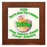 The Pluto Number Framed Tile